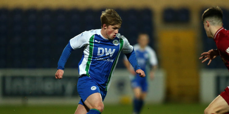 Joe Gelhardt is a product of the Wigan youth academy (Getty Images)