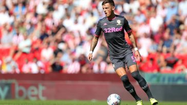 On-loan Brighton defender Ben White has been excellent at Leeds. (Getty Images)