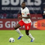 RB Leipzig defender Ibrahima Konate in action. (Getty Images)