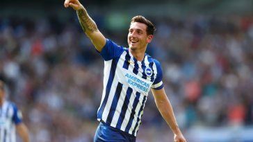 Brighton defender Lewis Dunk has been fantastic in the Premier League. (Getty Images)