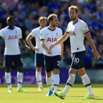 Tottenham players look dejected after conceding. (Getty Images)