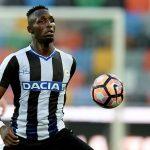 Udinese midfielder Seko Fofana in action. (Getty Images)