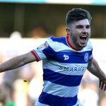 QPR left-back Ryan Manning celebrates after scoring. (Getty Images)