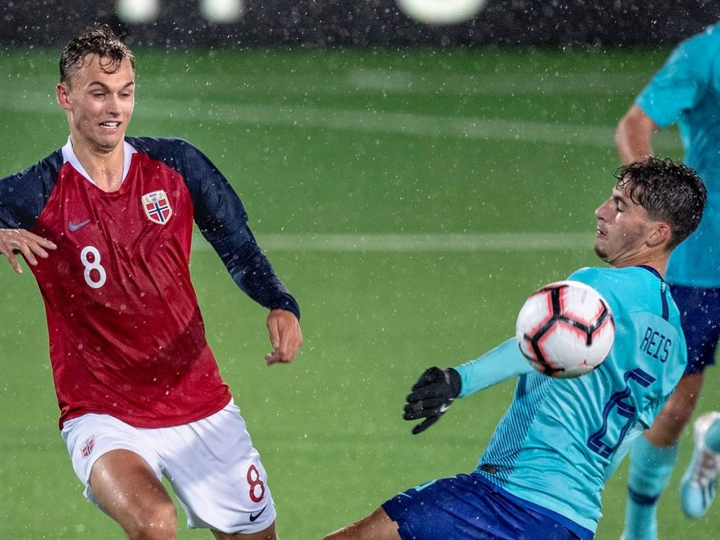 Emil Bohinen in action for Norway Under-21s. (Getty Images)