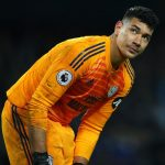 Neil Etheridge of Cardiff City during the Premier League match between Manchester City and Cardiff City at Etihad Stadium. (Getty Images)