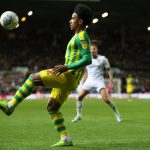 West Brom attacker Matheus Pereira controls the ball against Leeds United. (Getty Images)