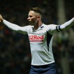 Alan Browne of Preston North End reacts during the Sky Bet Championship match between Preston North End and Leeds United at Deepdale on October 22, 2019 in Preston, England. (Getty Images)