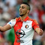 Bilal Basacikoglu of Feyenoord reacts during the pre season friendly match between Feyenoord Rotterdam and Southampton FC at De Kuip on July 23, 2015 in Rotterdam, Netherlands. (Getty Images)