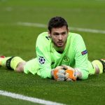 Craig Gordon of Celtic looks on dejected after PSG score their seventh goal during the UEFA Champions League group B match between Paris Saint-Germain and Celtic FC at Parc des Princes on November 22, 2017 in Paris, France. (Getty Images)