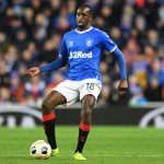 Glen Kamara in action for Rangers. (Getty Images)