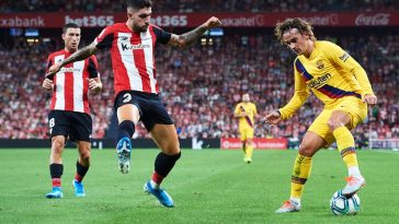 Athletic Bilbao defender Unai Nunez. (Getty Images)