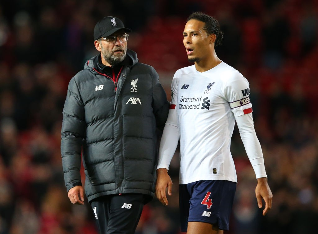 Virgil van Dijk is one of the best in the world