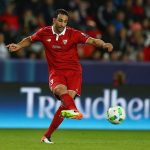 Adil Rami of Sevilla during the UEFA Super Cup match between Real Madrid and Sevilla at Lerkendal Stadium on August 9, 2016 in Trondheim, Norway. (Getty Images)