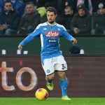 Amin Younes of SSC Napoli in action during the Serie A match between Udinese Calcio and SSC Napoli at Stadio Friuli on December 7, 2019 in Udine, Italy. (Getty Images)