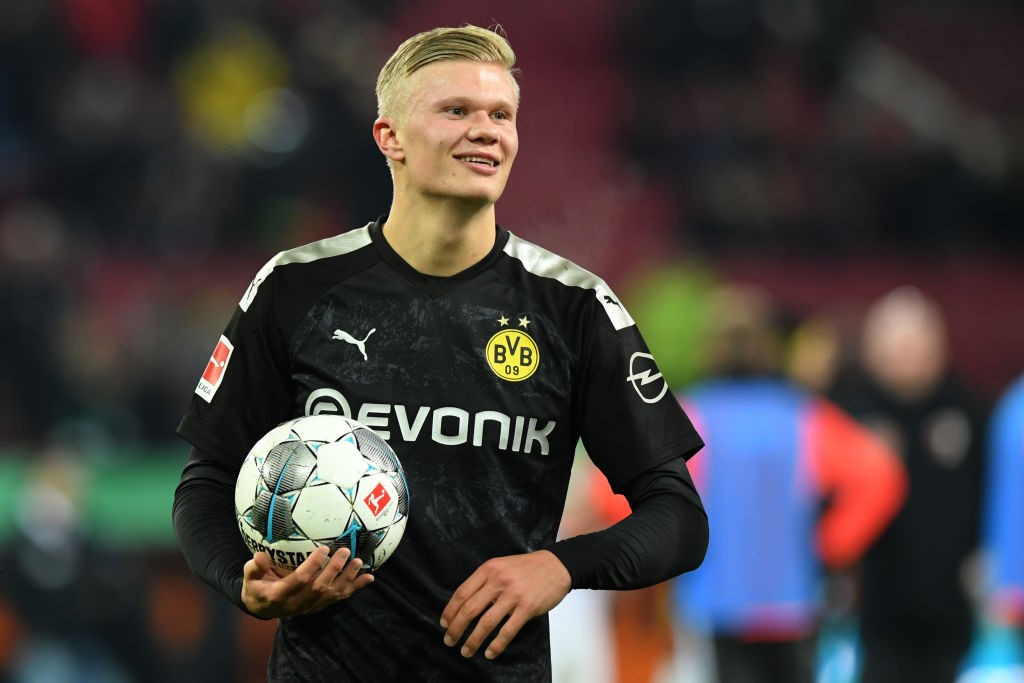 Borussia Dortmund new signing Erling Haaland (Getty Images)