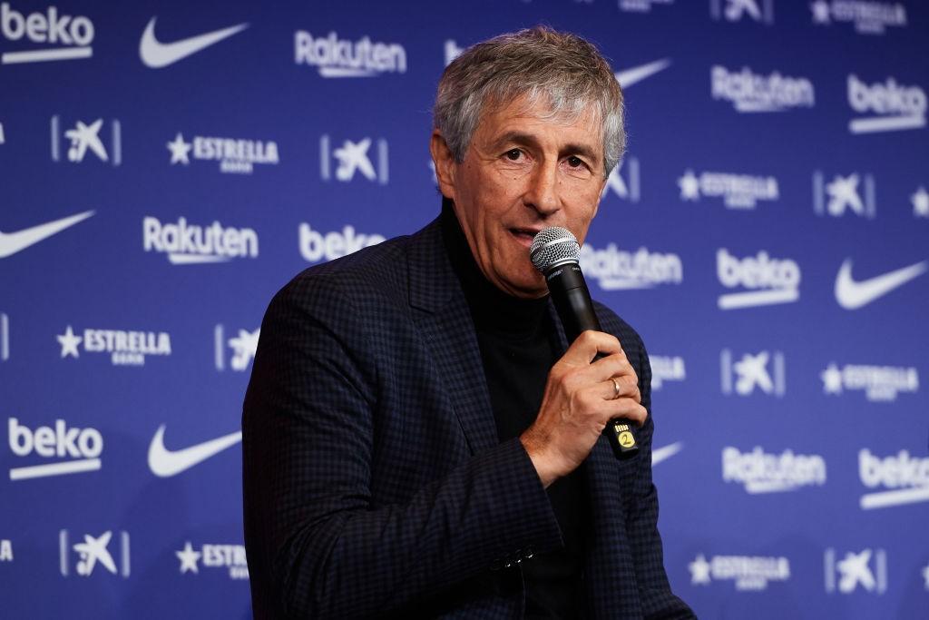 New Barcelona manager Quique Setien (Getty Images)