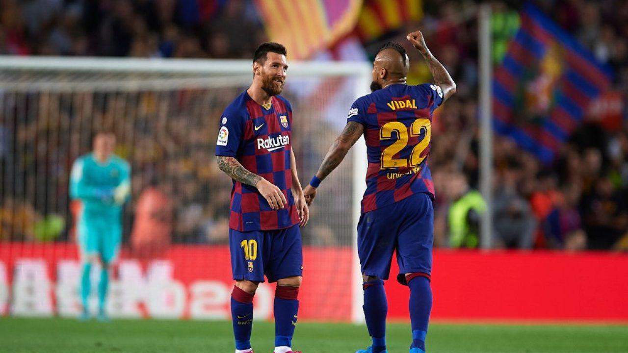 Arturo Vidal affirms himself as Lionel Messi's best partner in Barcelona  (Stats)