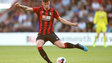 Jack Simpson of Bournemouth during the Pre-Season Friendly match between AFC Bournemouth and SS Lazio at Vitality Stadium on August 02, 2019 in Bournemouth, England. (Getty Images)