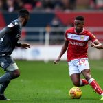 Niclas Eliasson of Bristol City attempts to get past Mahlon Romeo of Millwall during the Sky Bet Championship match between Bristol City and Millwall at Ashton Gate on December 2, 2018 in Bristol, England. (Getty Images)