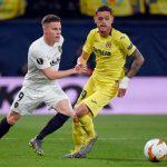 Villarreal left-back Xavi Quintilla in action. (Getty Images)