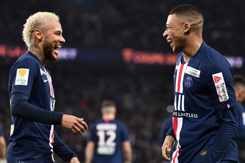 Neymar and Kylian Mbappe (Getty Images)