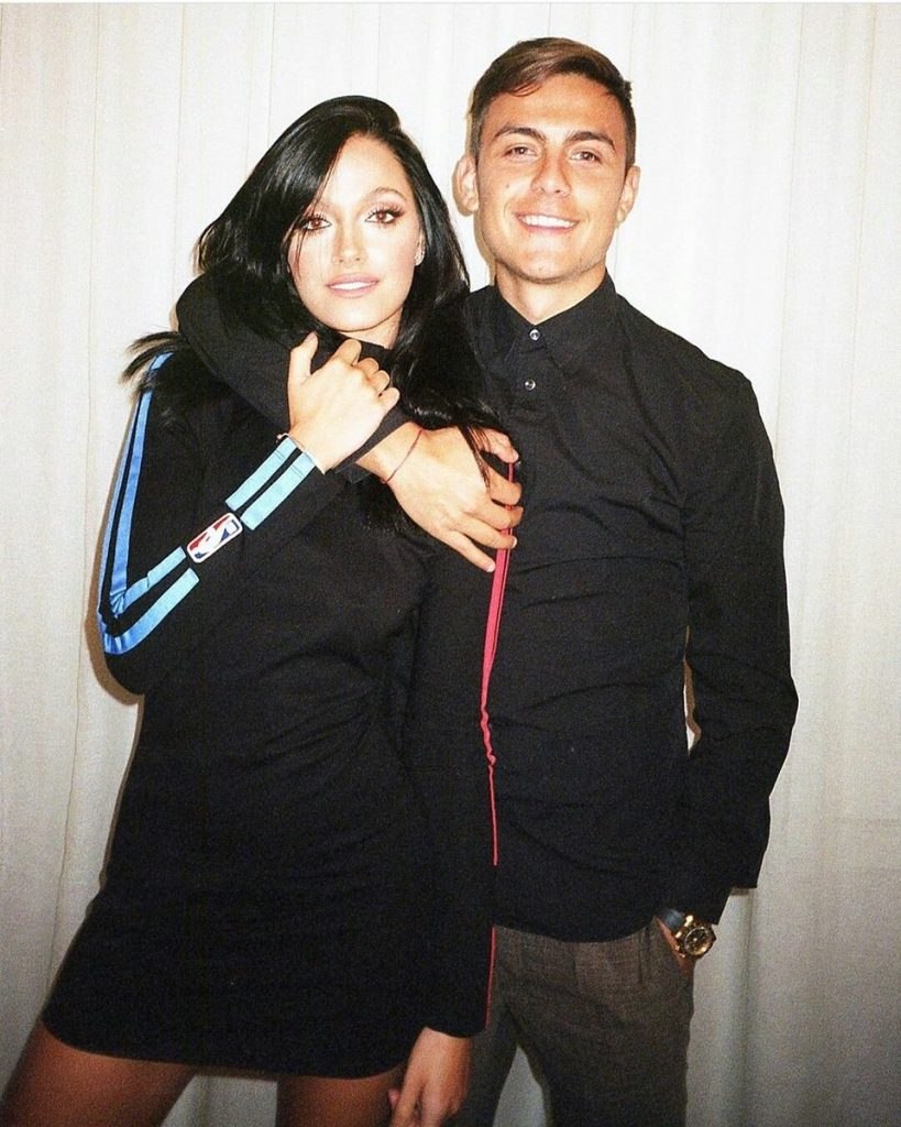 Dybala and his girlfriend Sabatini tested coronavirus positive a few days back