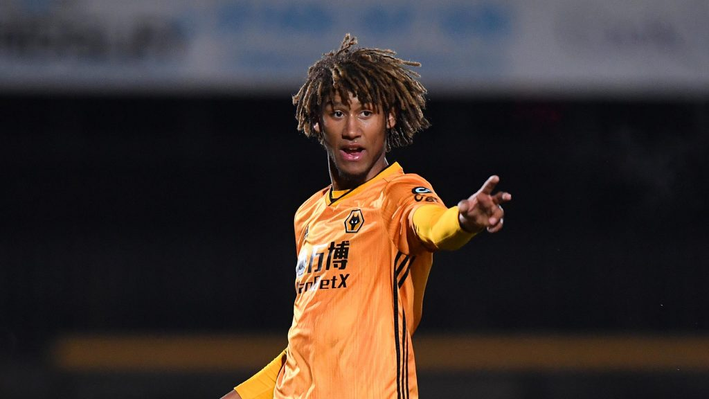 On-loan Wolves right-back Dion Sanderson