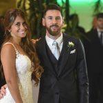 Lionel Messi with his wife Antonella Roccuzzo. (Google)