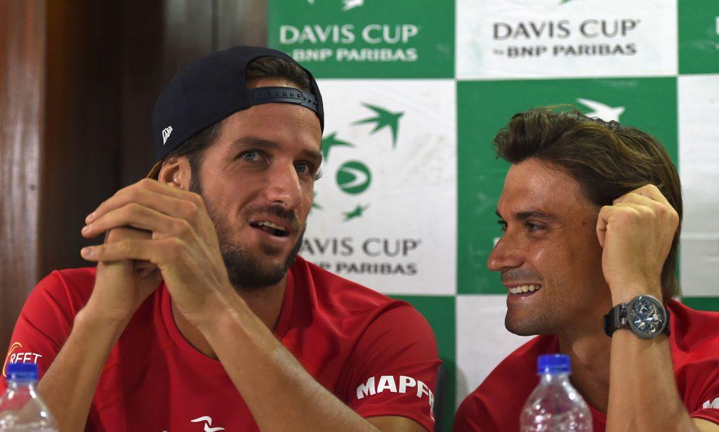 David Ferrer and Feliciano Lopez