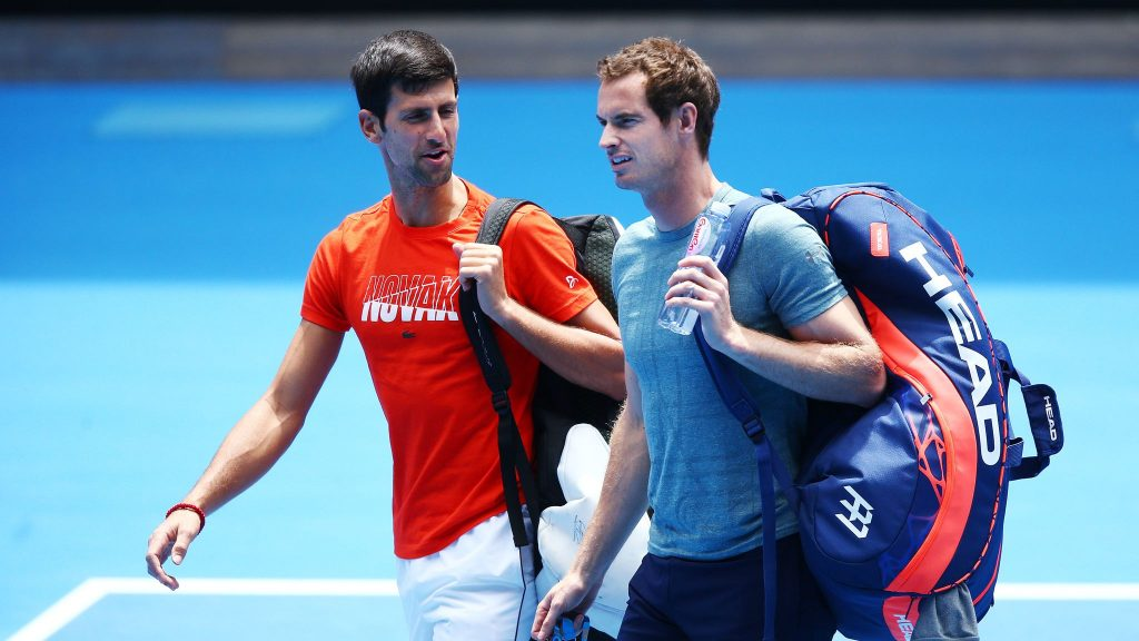 Novak Djokovic could not stomach some of the bits from the documentary of Andy Murray