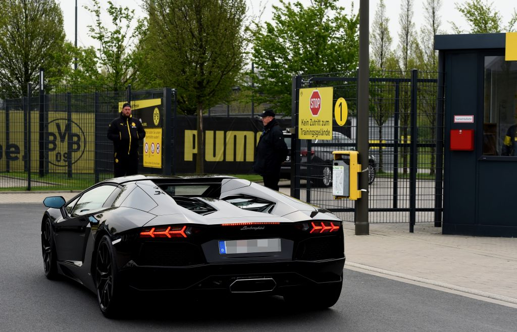 Pierre-Emerick Aubameyang has some amazing cars