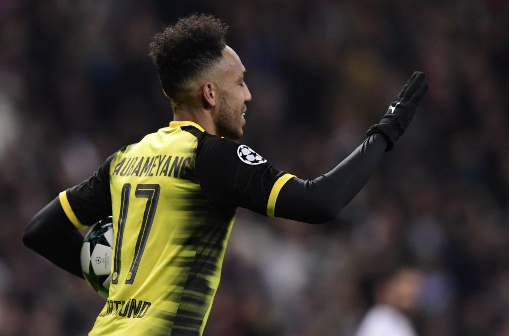 Pierre-Emerick Aubameyang for Dortmund