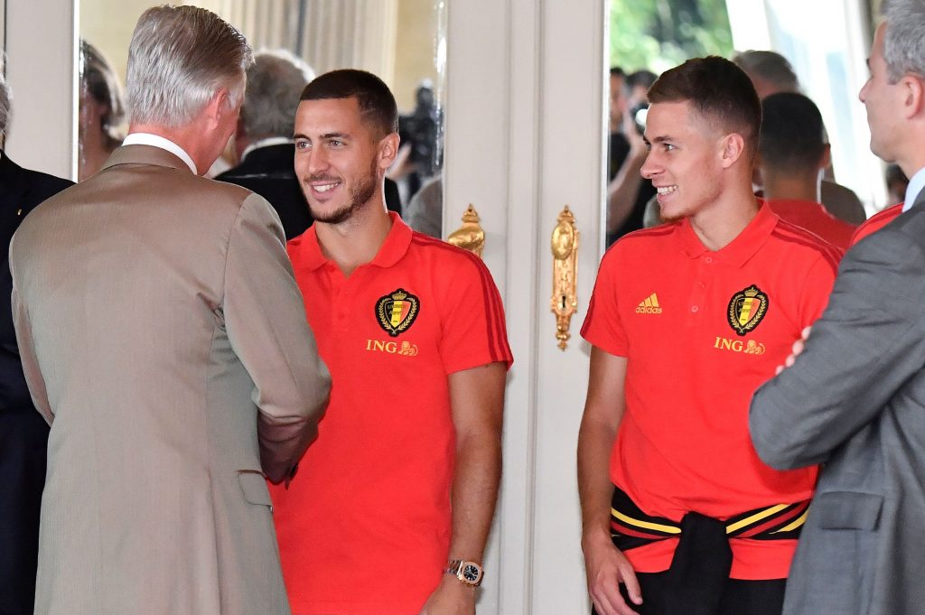 Eden and brother Thorgan Hazard