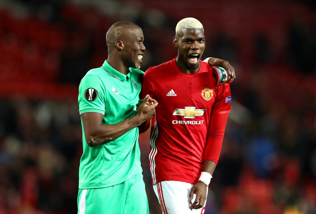 Paul Pogba with his brother Florentin