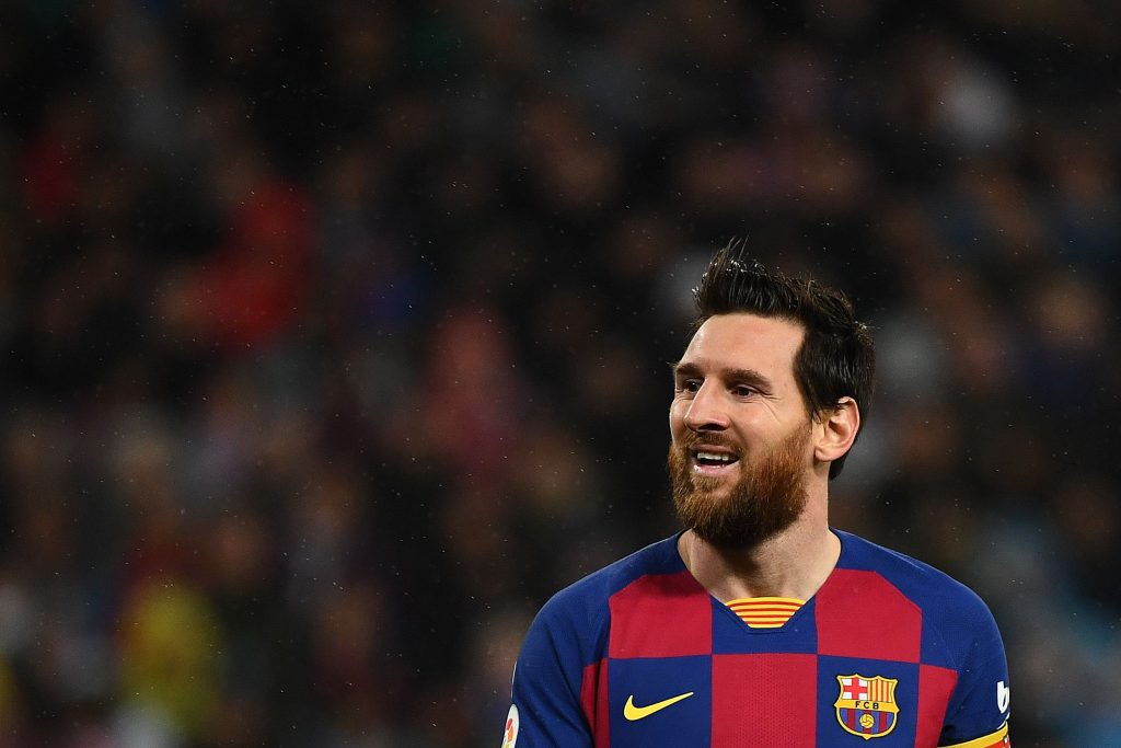 Lionel Messi has only played for Barcelona in his career
