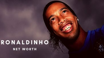 Ronaldinho has amassed a huge net worth thanks to his footballing days