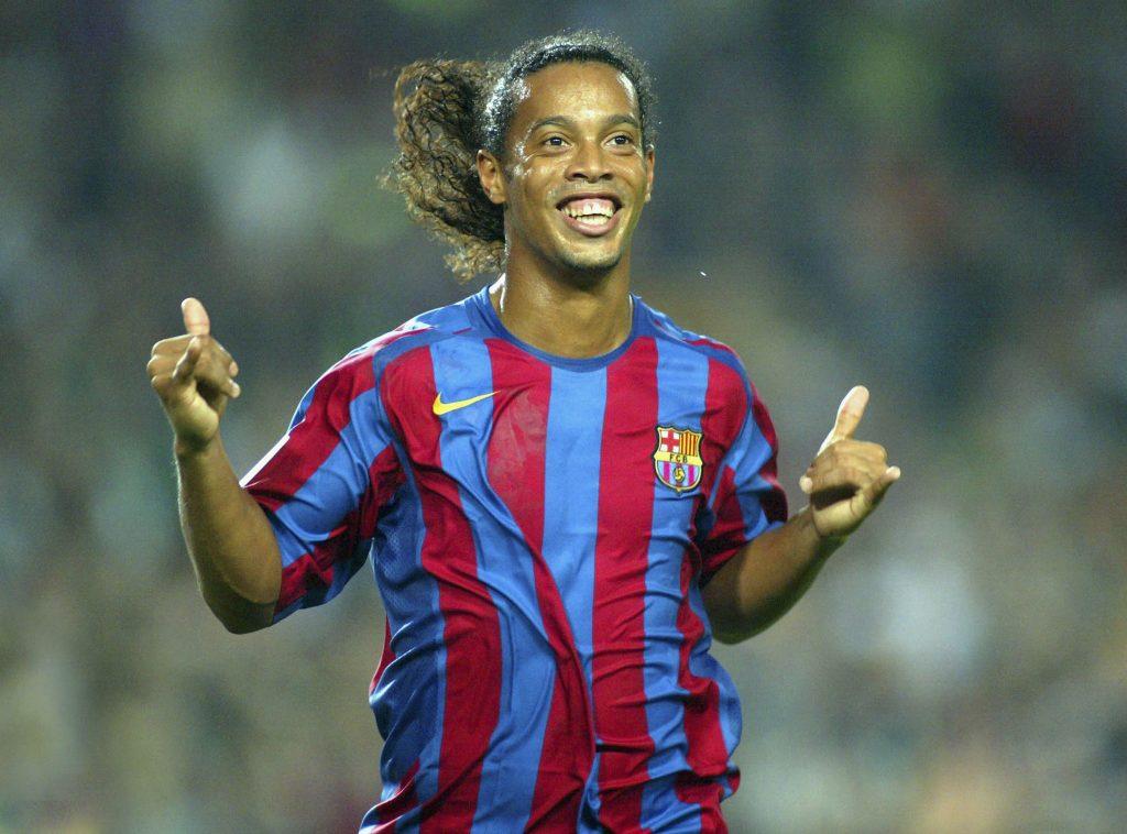 Ronaldinho was a star at Barcelona
