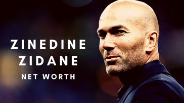 Zinedine Zidane has amassed a massive net worth thanks to his football career