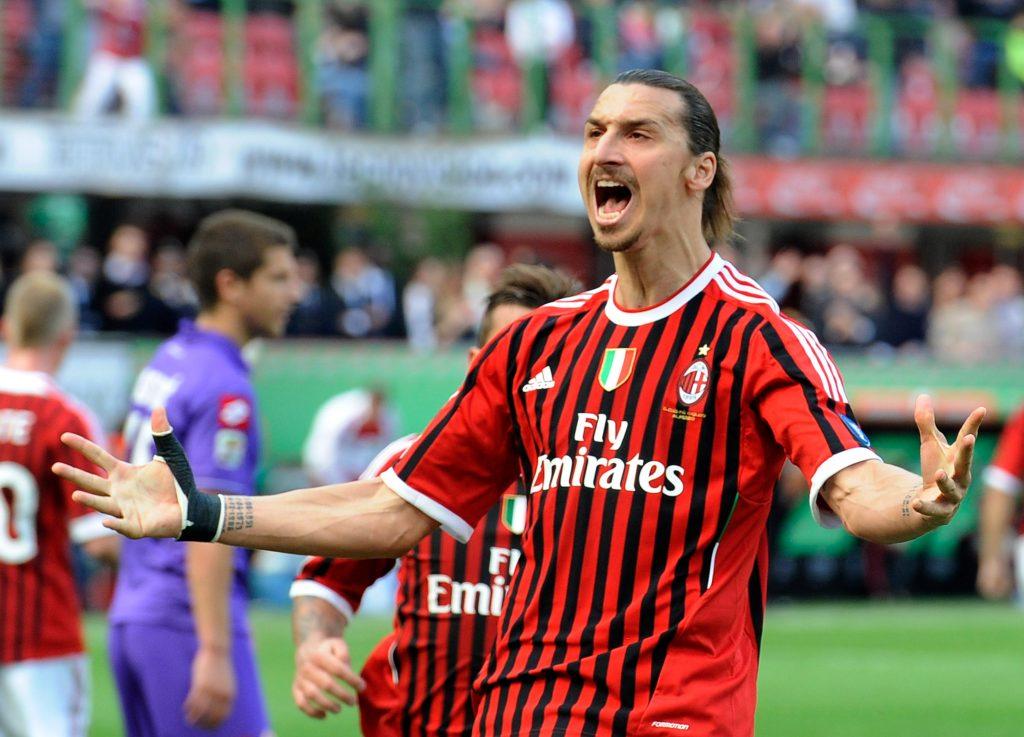 Zlatan Ibrahimovic is currently at AC Milan
