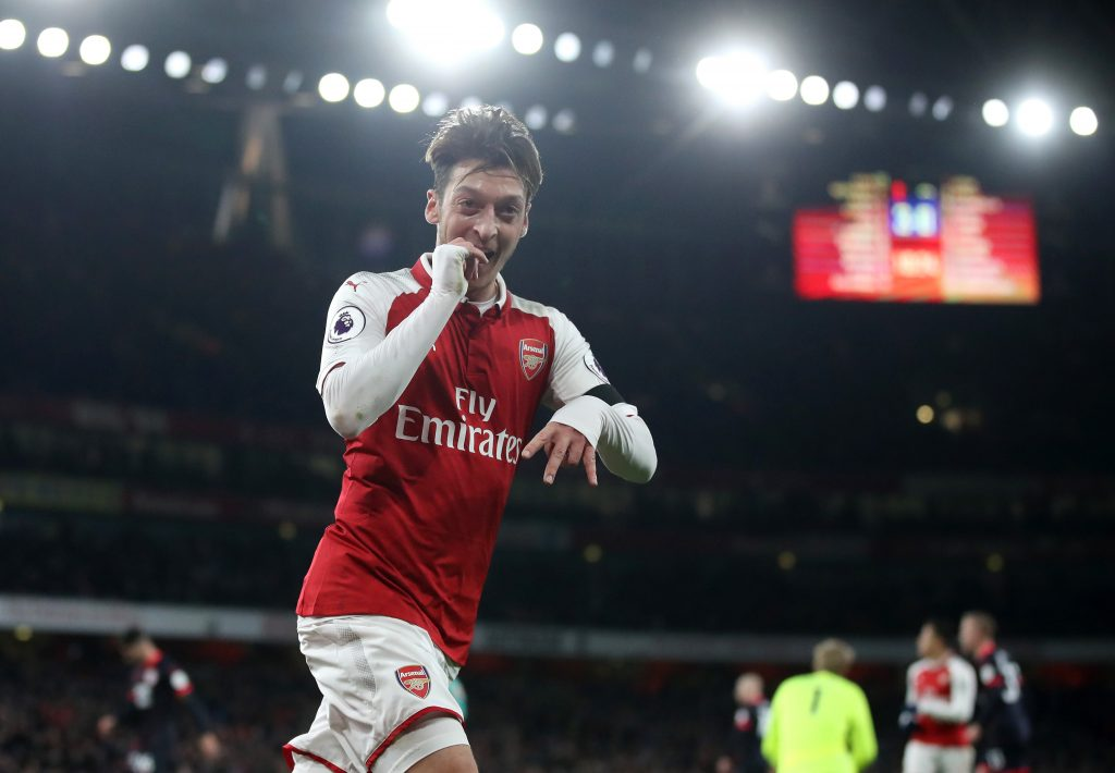 Mesut Ozil joined Arsenal from Real Madrid