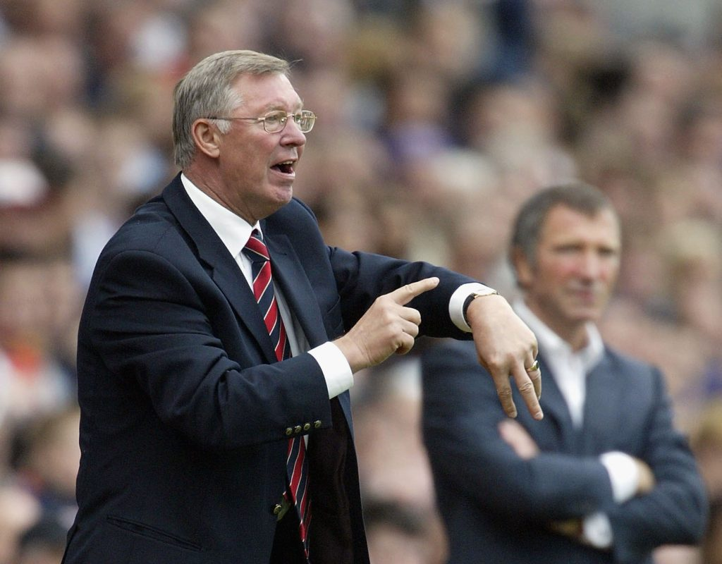Sir Alex Ferguson is known for his Fergie time