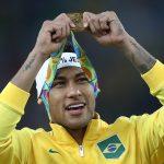 Neymar during the 2016 Olympics