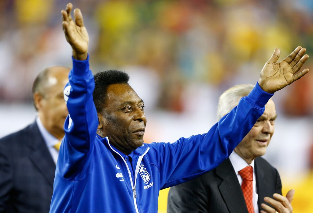 Pele is a legend in the world of football