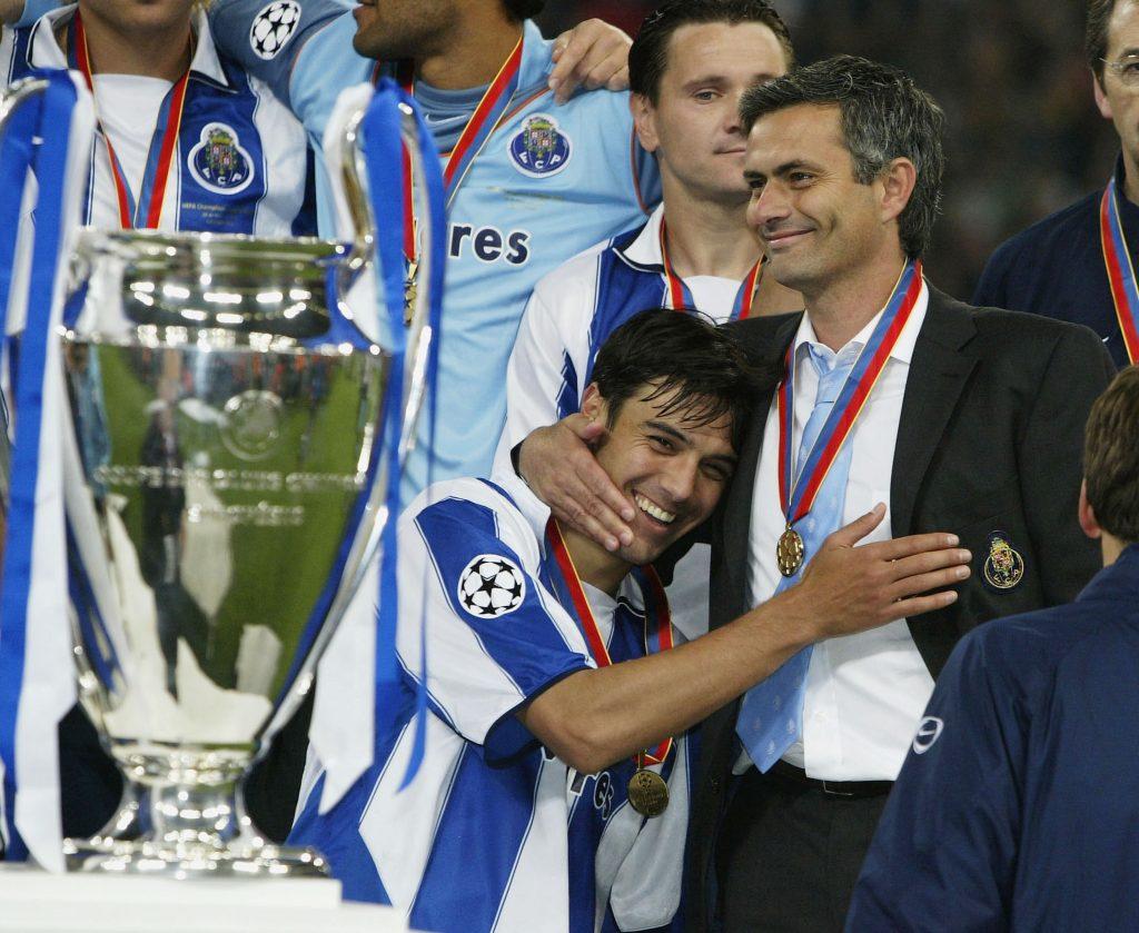 Jose Mourinho winning the Champions League with Porto made a lot of news
