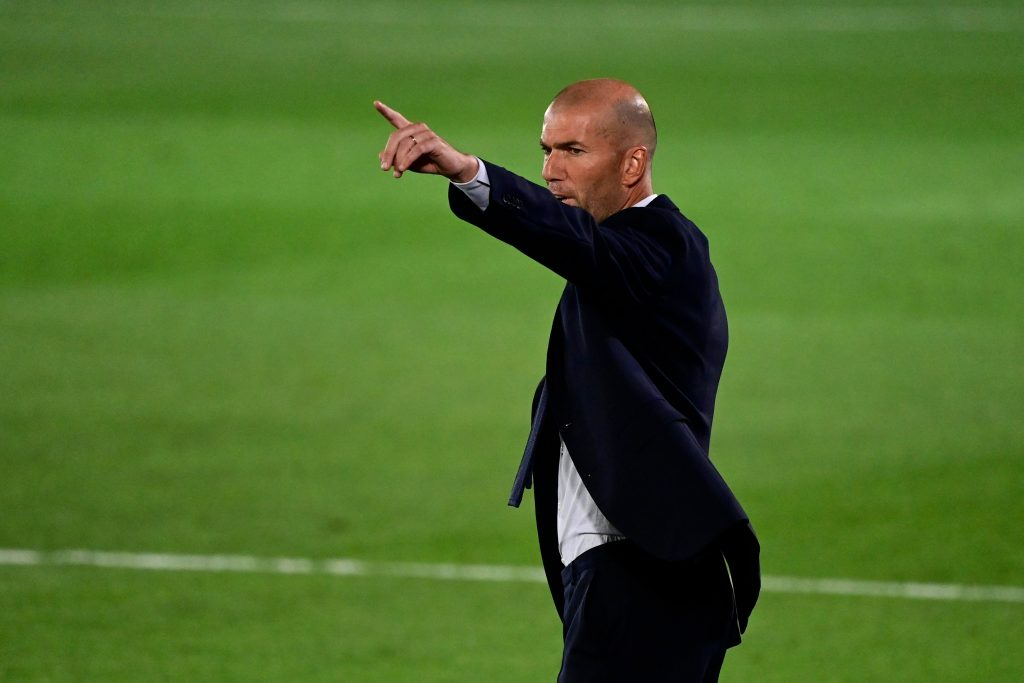 Zinedine Zidane is the manager of Real Madrid