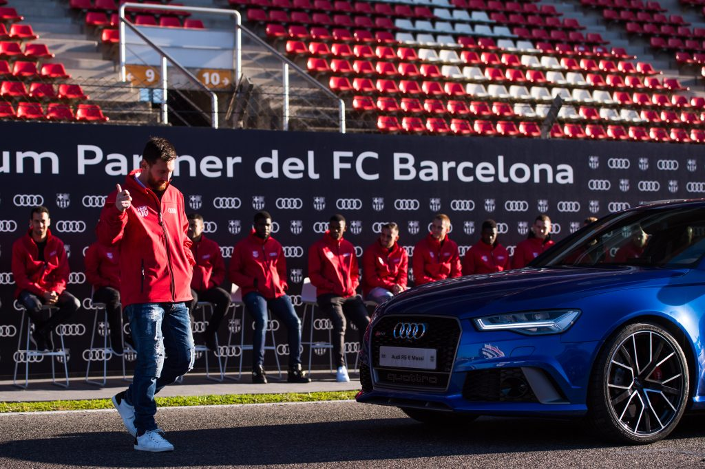 Lionel Messi is the brand ambassador for several companies