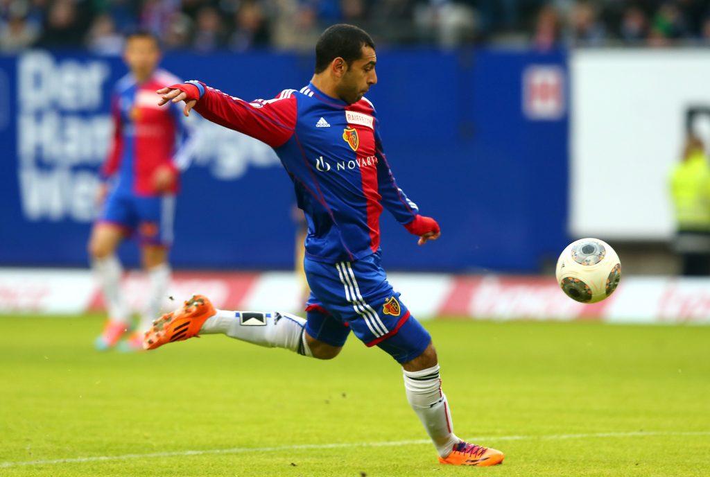 Mo Salah made his first big move by joining Basel