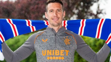 Jon McLaughlin has joined Rangers (Image credit: Rangers.co.uk)