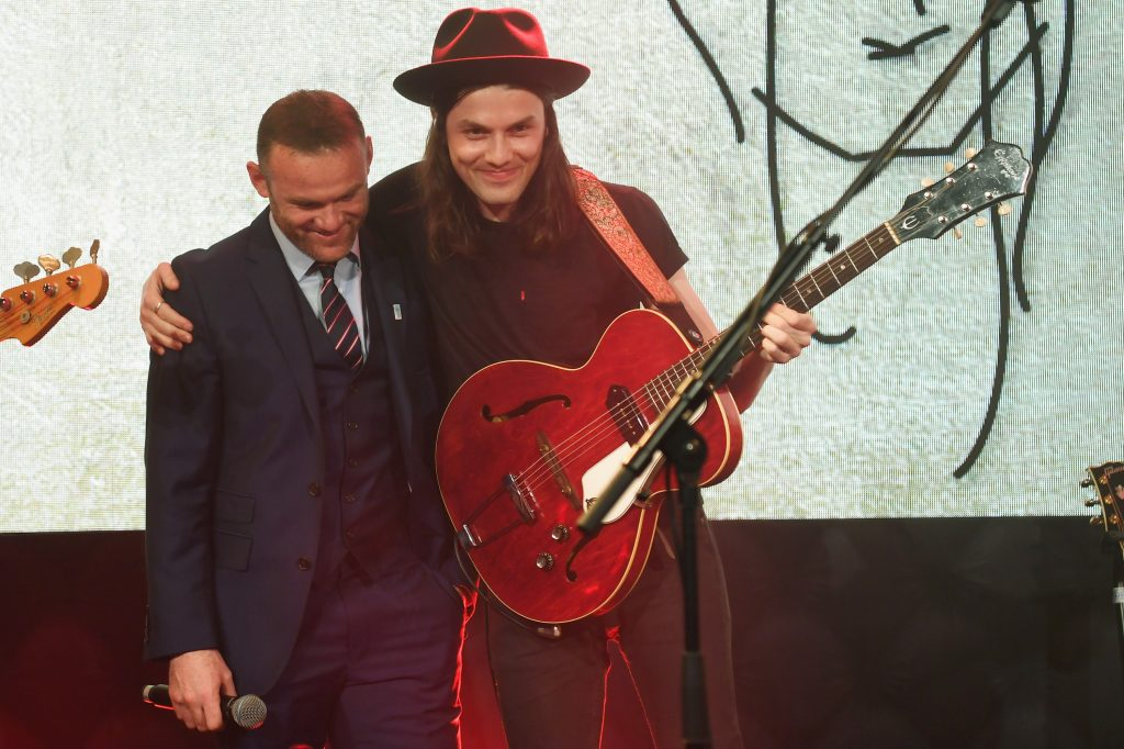 Wayne Rooney has been part of many charity events