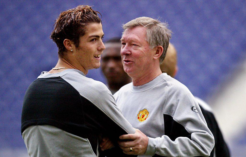 Sir Alex Ferguson created many players such as Cristiano Ronaldo